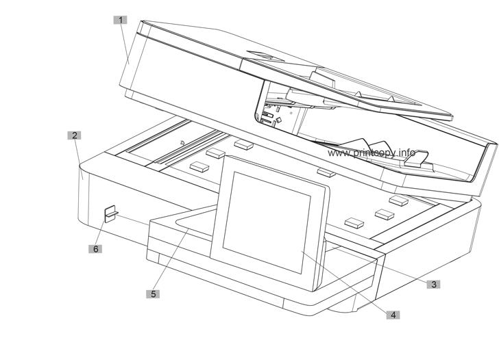 Parts Catalog > HP > LaserJet M806 Enterprise > page 1