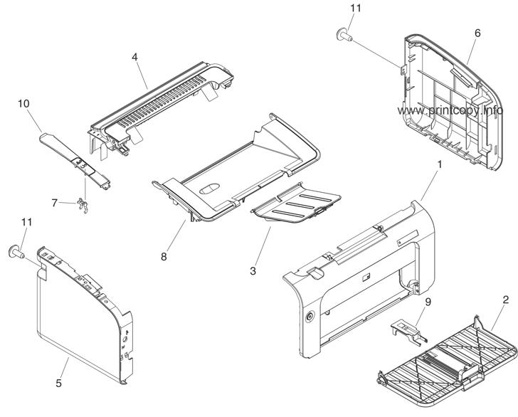 Parts Catalog > HP > LaserJet P1006 > page 4