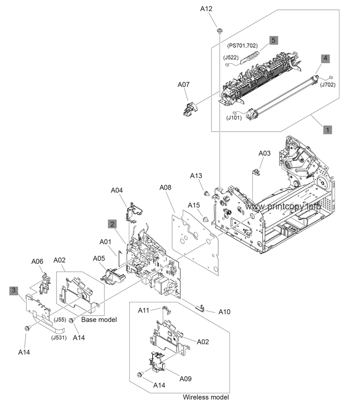 Parts Catalog > HP > LaserJet Professional P1102 > page 3