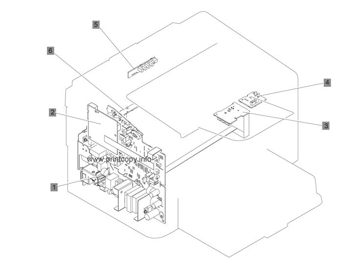 Parts Catalog > HP > LaserJet Pro P1566 Series > page 6