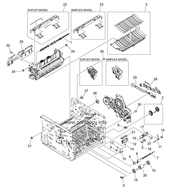 Parts Catalog > HP > LaserJet P2015 > page 5