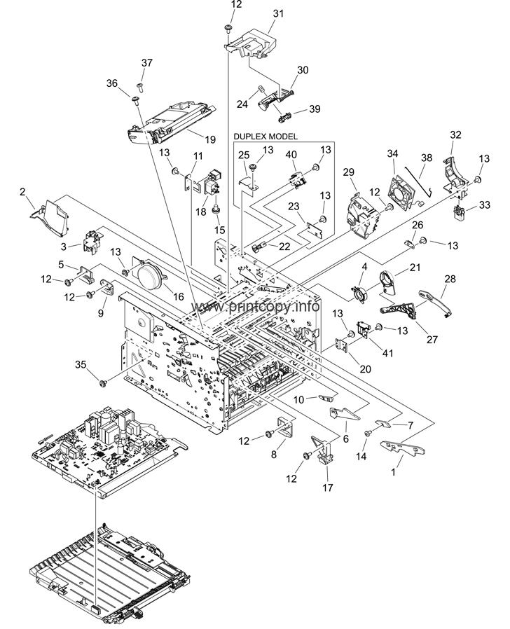 Parts Catalog > HP > LaserJet P2015dn > page 6