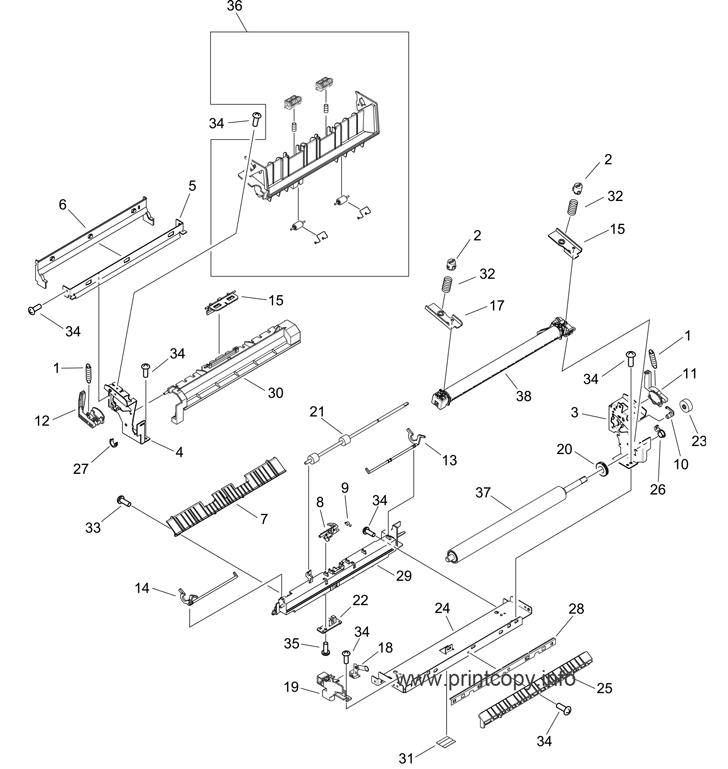 Parts Catalog > HP > LaserJet P2015 > page 11
