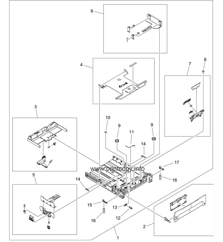 Parts Catalog > HP > LaserJet P2015 > page 14