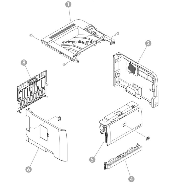 Parts Catalog > HP > LaserJet P2035 > page 2
