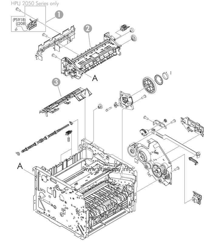 Parts Catalog > HP > LaserJet P2055dn > page 3