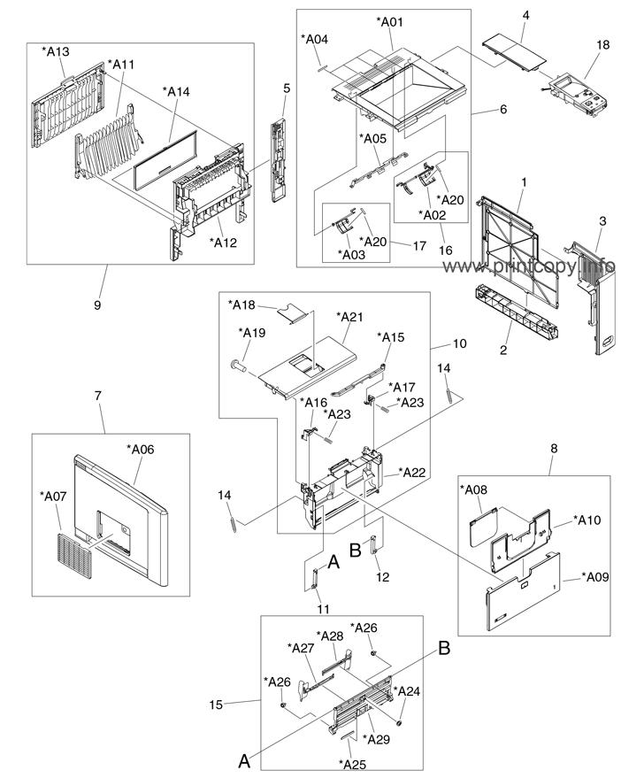 Parts Catalog > HP > LaserJet P3005 > page 1