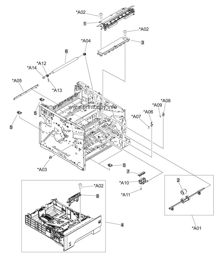 Parts Catalog > HP > LaserJet P3015 > page 4