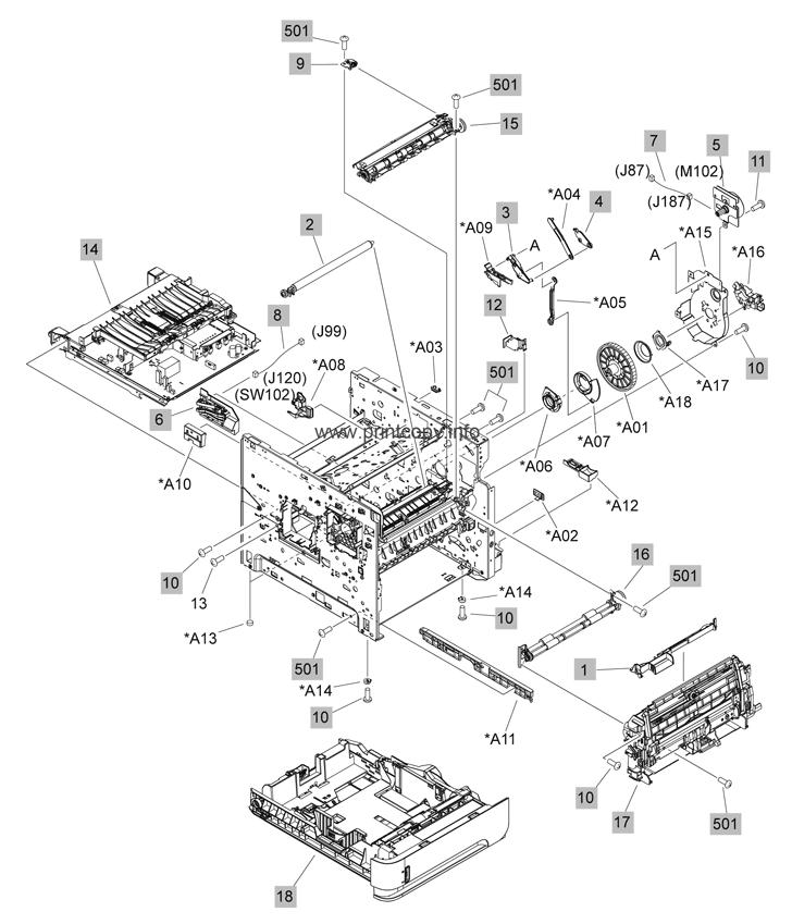 Parts Catalog > HP > LaserJet P4015n > page 2