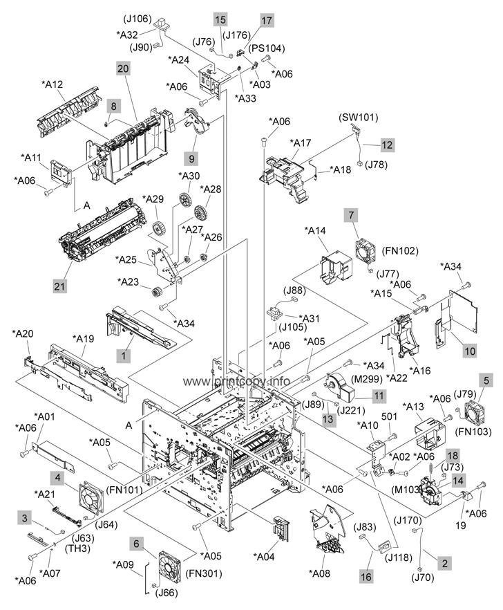 Parts Catalog > HP > LaserJet P4015n > page 4