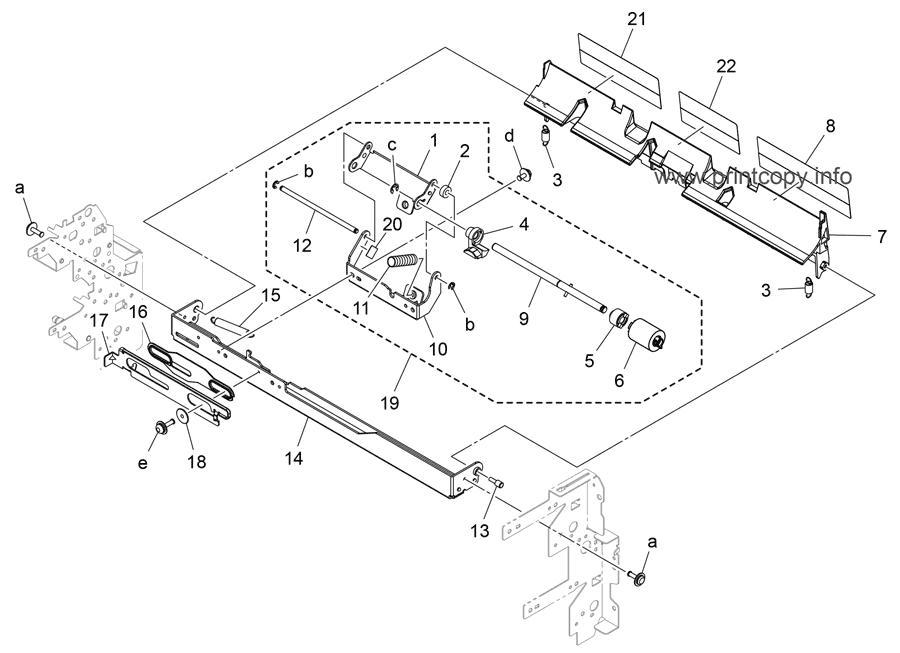 Parts Catalog > Konica-Minolta > bizhub 308e > page 18