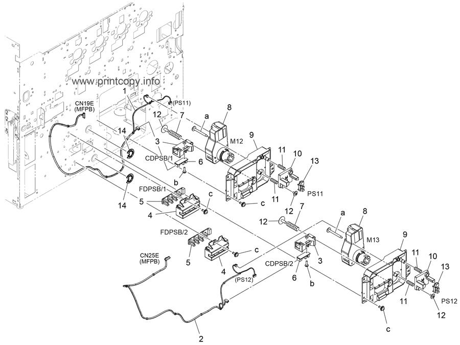 Parts Catalog > Konica-Minolta > bizhub 308e > page 22