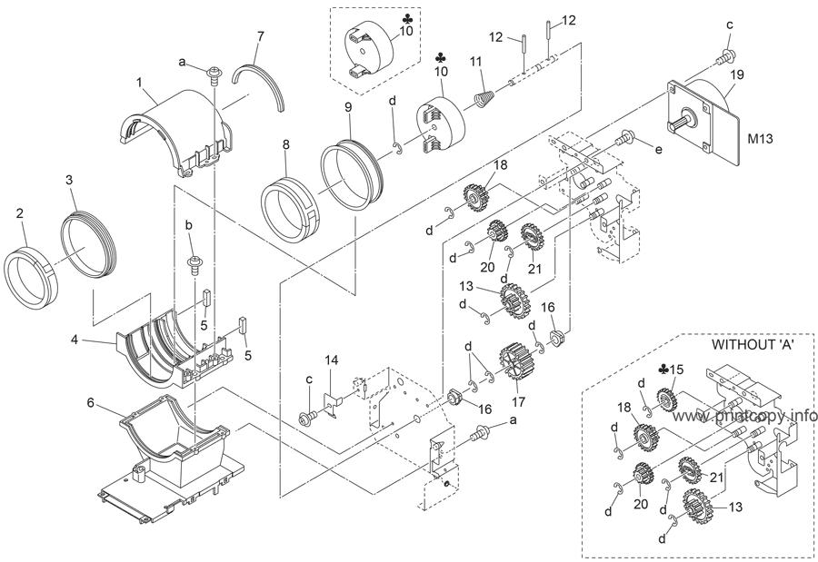 Parts Catalog > Konica-Minolta > bizhub 600 > page 25