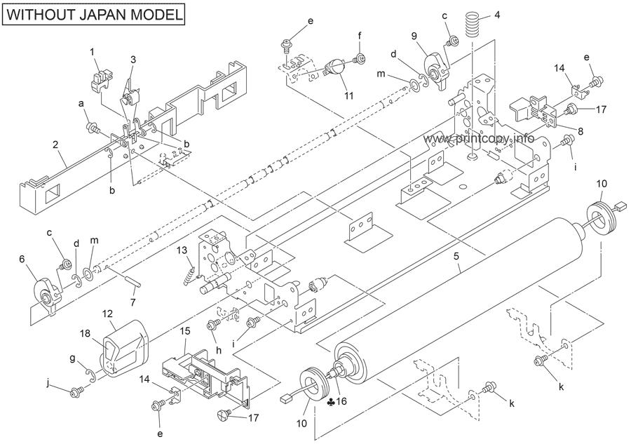 Parts Catalog > Konica-Minolta > bizhub 750 > page 39