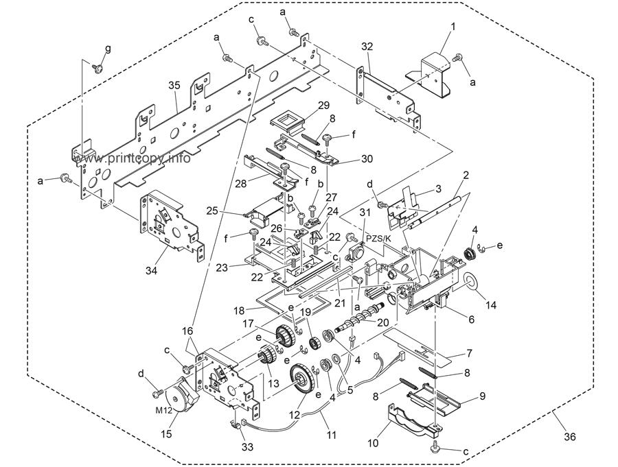 Parts Catalog > Konica-Minolta > bizhub 654 > page 28