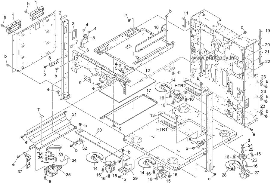 Parts Catalog > Konica-Minolta > bizhub 751 > page 1