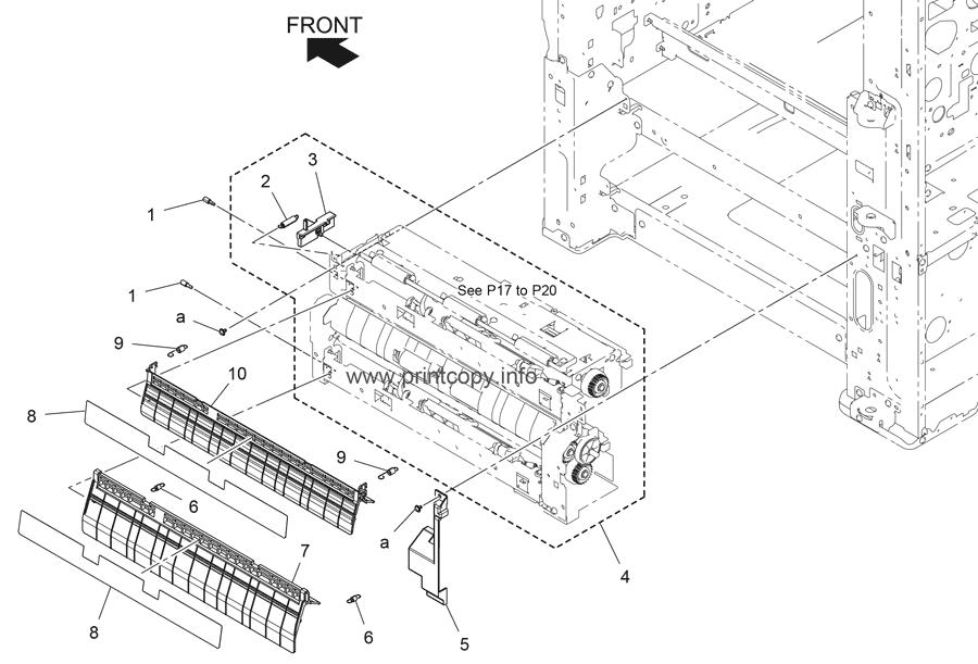 Parts Catalog > Konica-Minolta > bizhub C227 > page 16