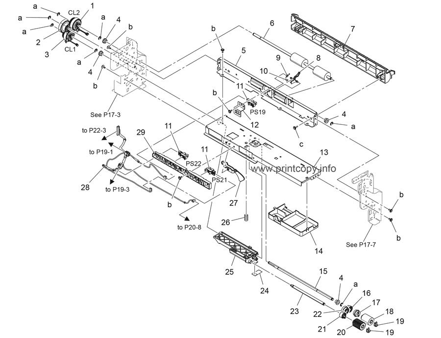 Parts Catalog > Konica-Minolta > bizhub C227 > page 19