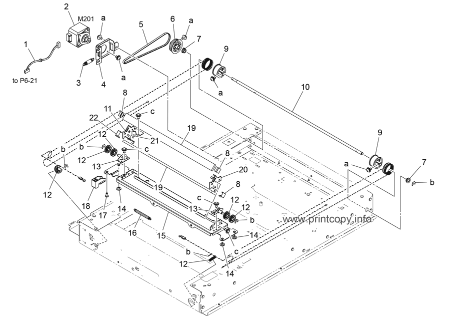 Parts Catalog > Konica-Minolta > bizhub C258 > page 8