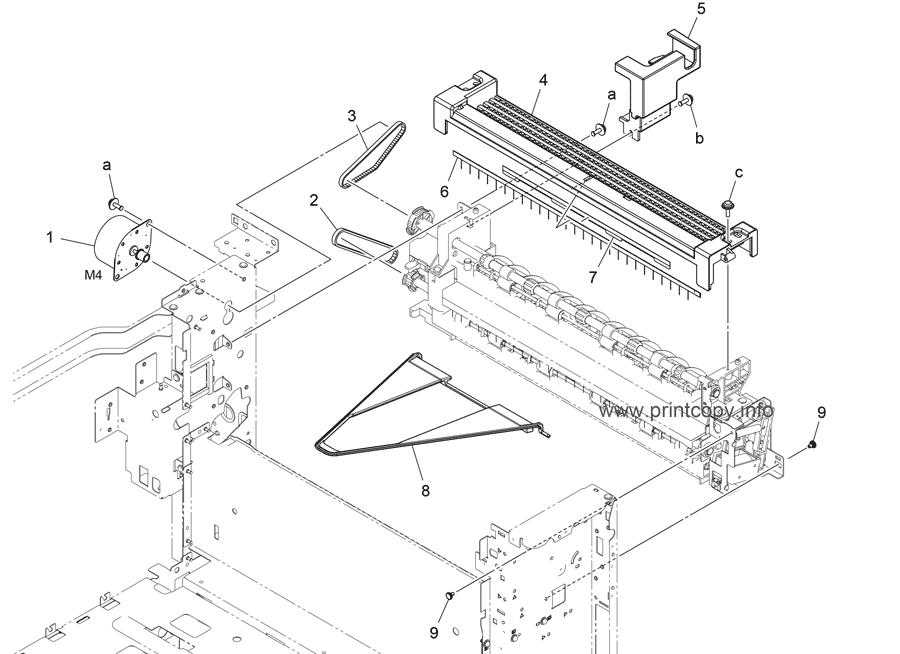 Parts Catalog > Konica-Minolta > bizhub C258 > page 37