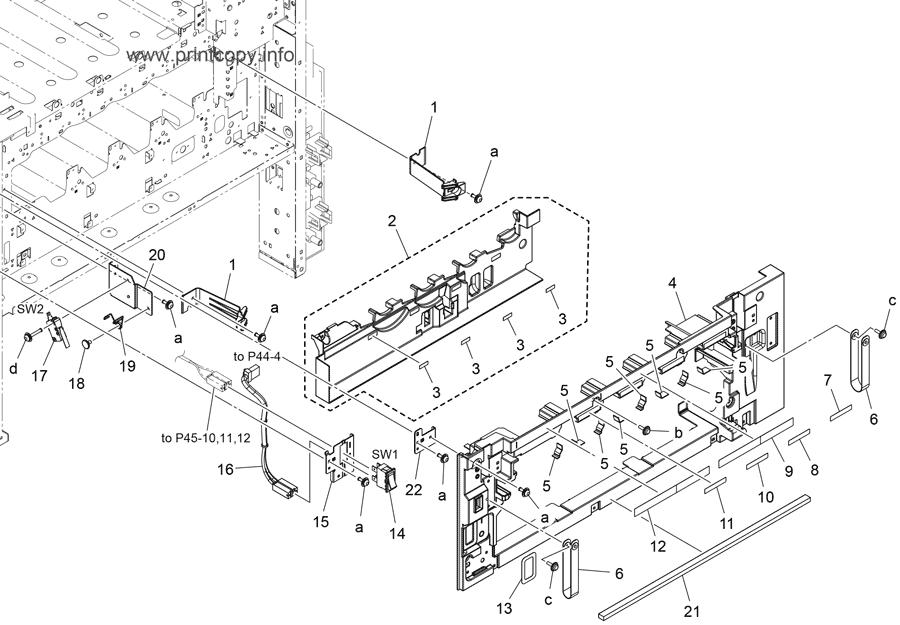 Parts Catalog > Konica-Minolta > bizhub C308 > page 3