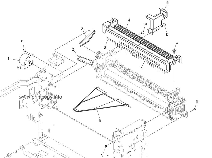 Parts Catalog > Konica-Minolta > bizhub C308 > page 37