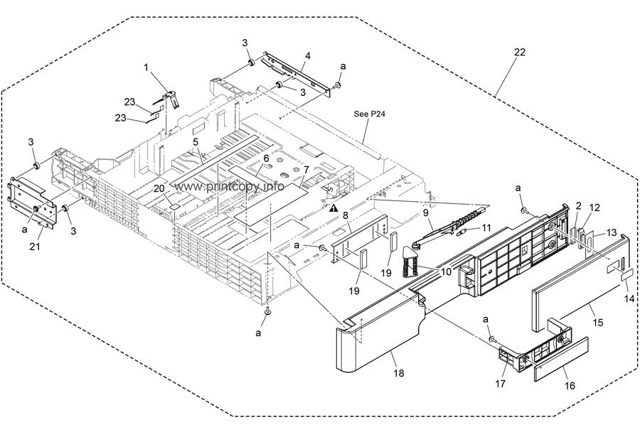 Parts Catalog > Konica-Minolta > bizhub C368 > page 23