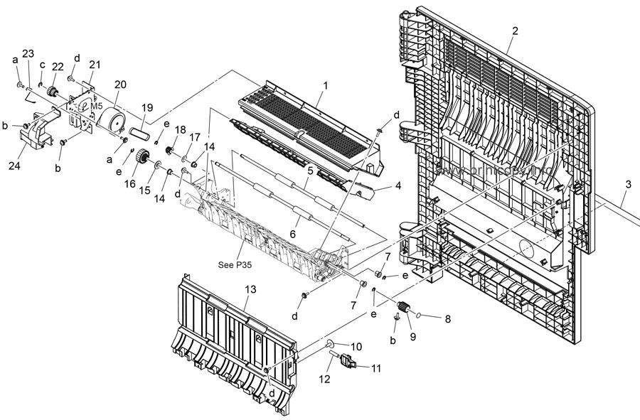 Parts Catalog > Konica-Minolta > bizhub C368 > page 34