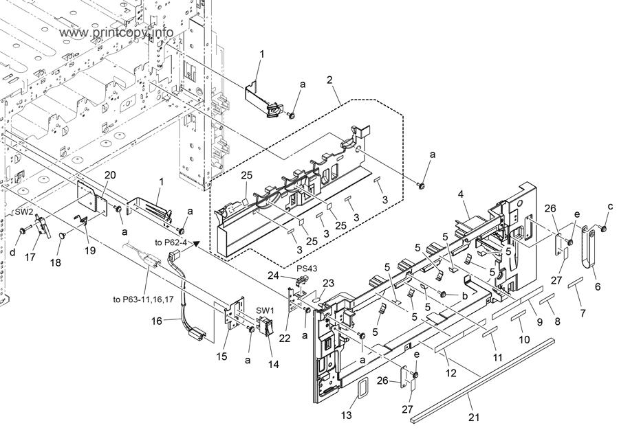Parts Catalog > Konica-Minolta > bizhub C458 > page 17