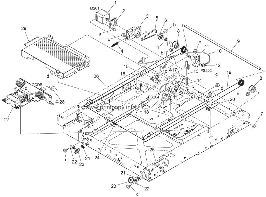Parts Catalog > Konica-Minolta > bizhub C550 > page 11