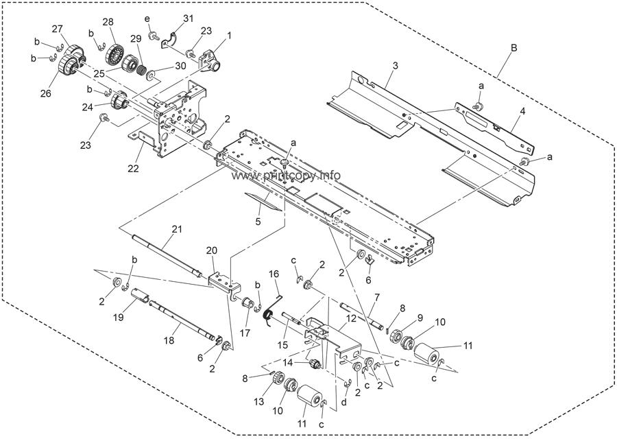 Konica Minolta C550 Service Manual