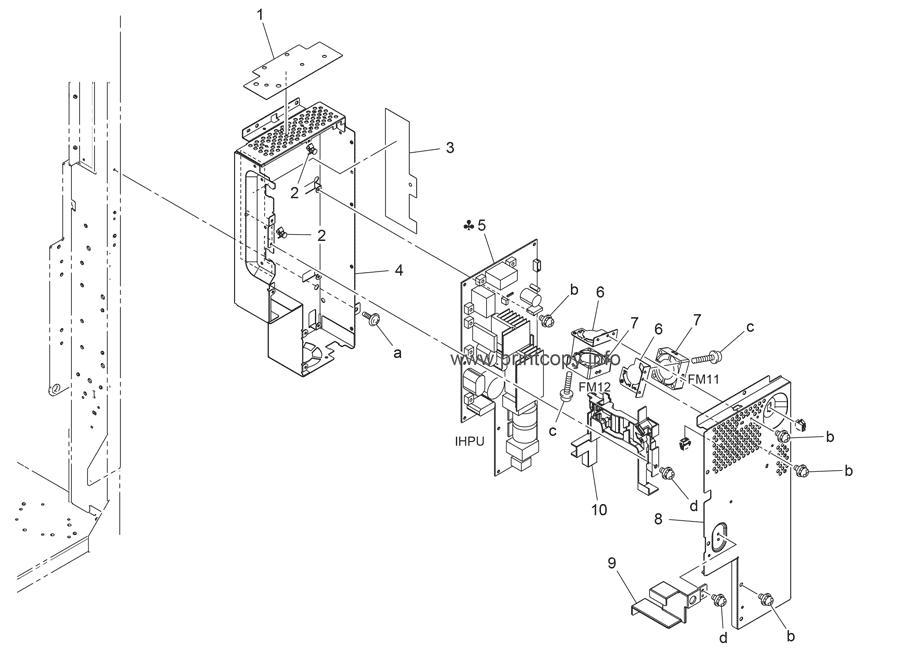 Parts Catalog > Konica-Minolta > bizhub C550 > page 71