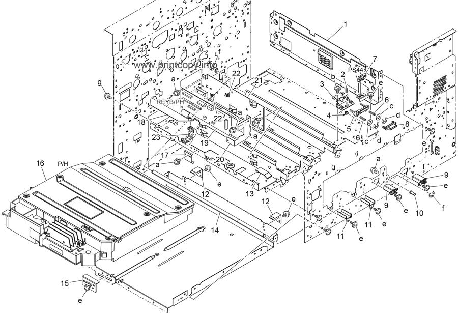 Parts Catalog > Konica-Minolta > bizhub C652 > page 25