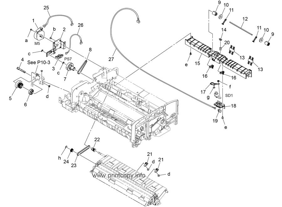 Parts Catalog > Konica-Minolta > bizhub C554 > page 16