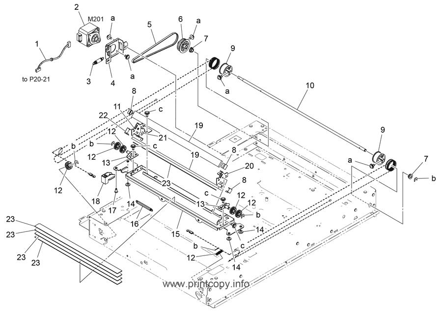 Parts Catalog > Konica-Minolta > bizhub C558 > page 22