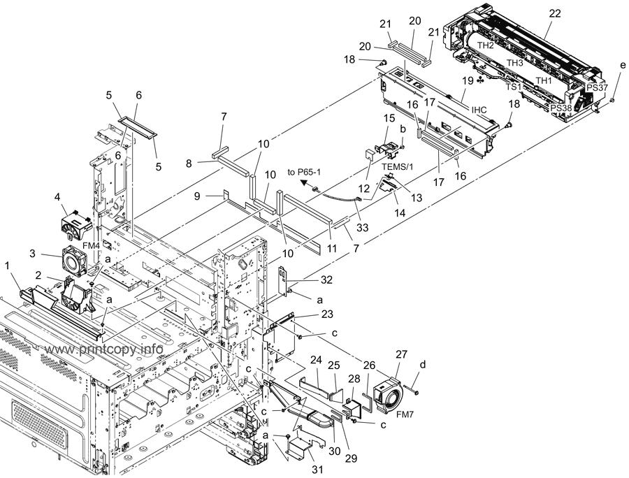 Parts Catalog > Konica-Minolta > bizhub C558 > page 52