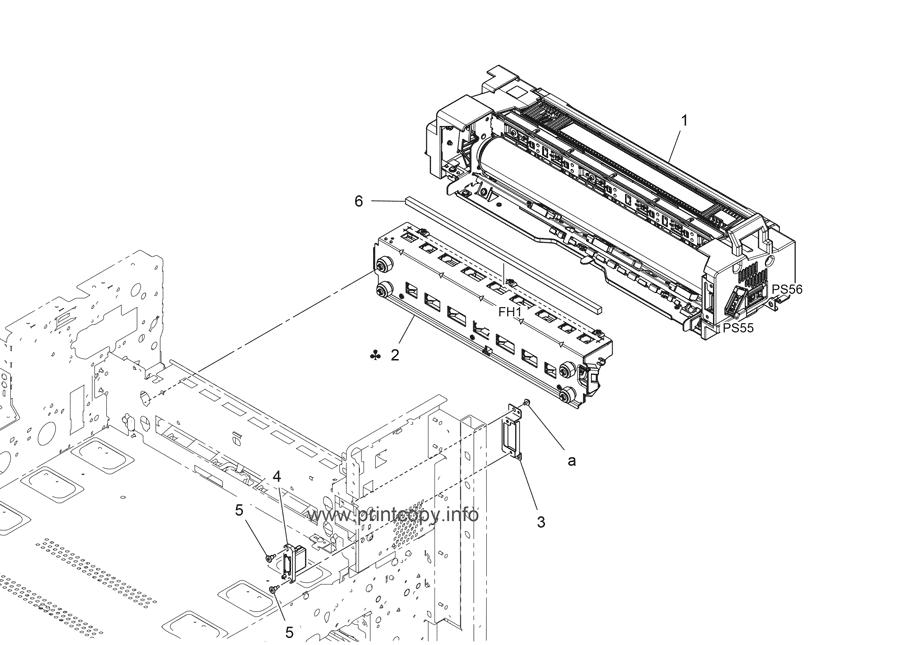 Parts Catalog > Konica-Minolta > bizhub C654e > page 62