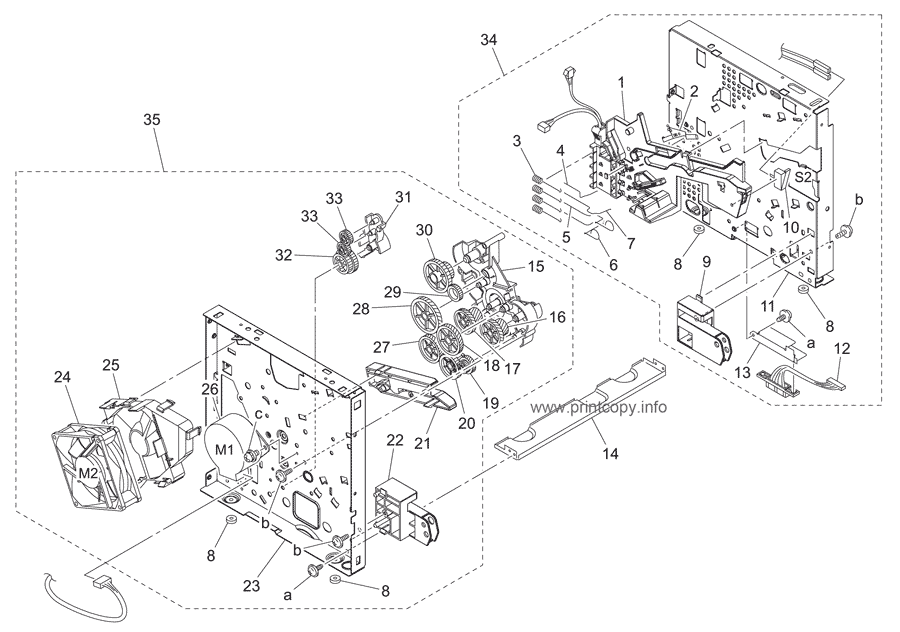 Parts Catalog > Konica-Minolta > bizhub 160f > page 7