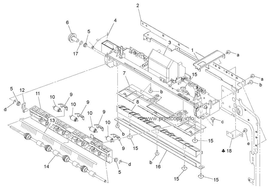 Parts Catalog > Konica-Minolta > bizhub 7516 > page 17