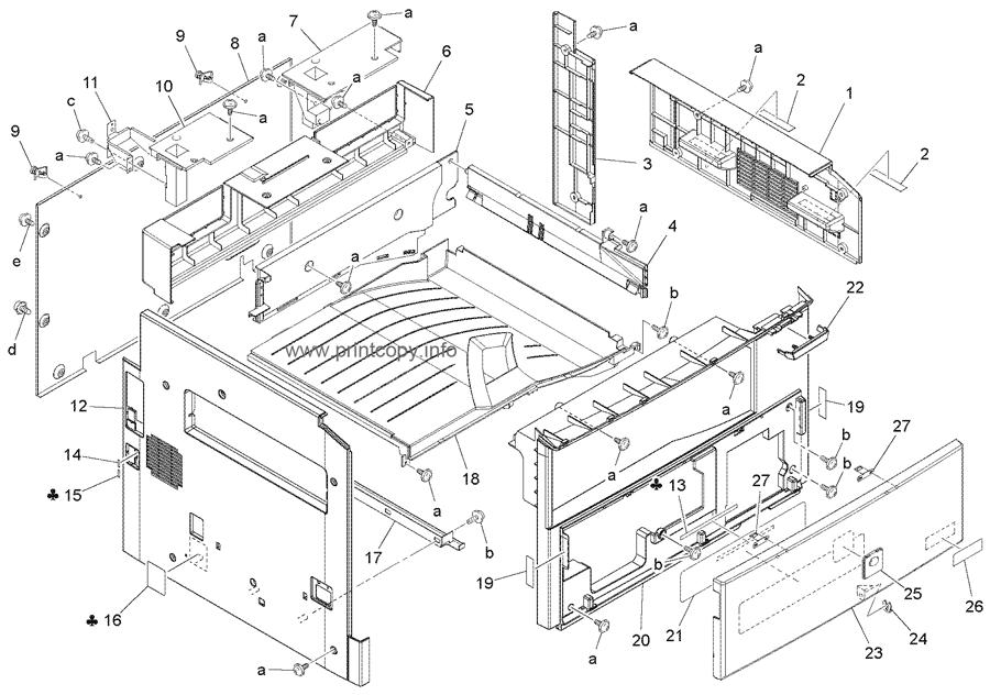 Parts Catalog > Konica-Minolta > bizhub 163 > page 3