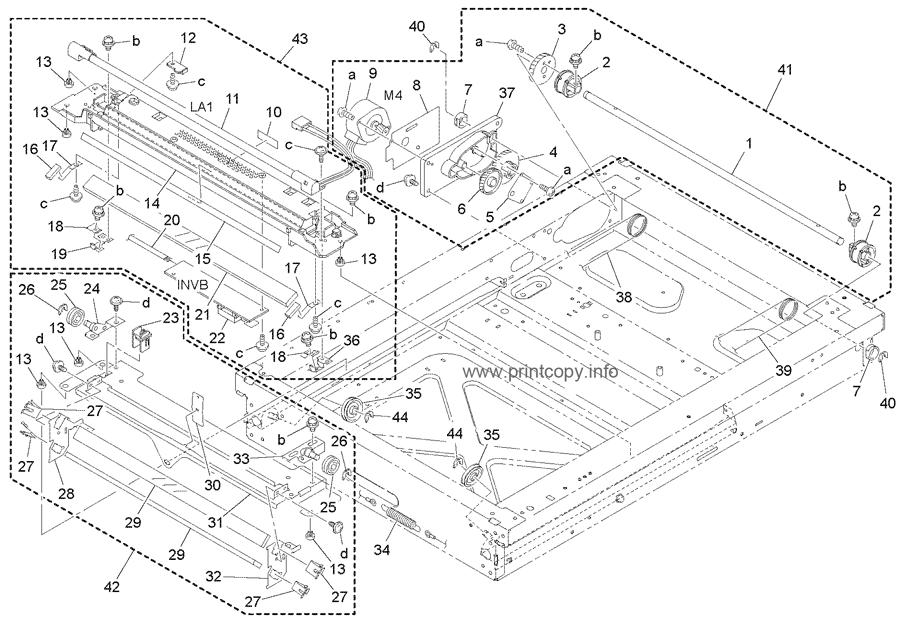 Parts Catalog > Konica-Minolta > bizhub 7616 > page 6