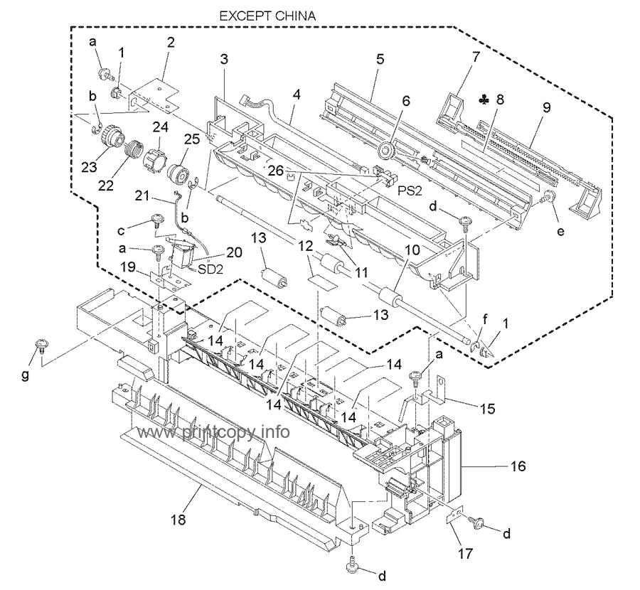 Parts Catalog > Konica-Minolta > bizhub 163 > page 11