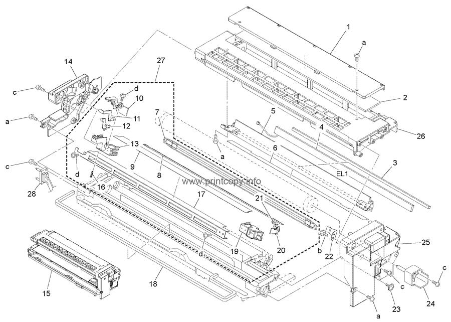 Parts Catalog > Konica-Minolta > bizhub 163 > page 13