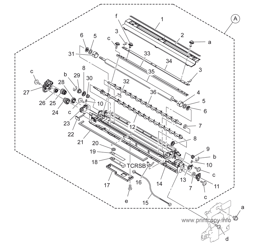 Parts Catalog > Konica-Minolta > bizhub 164 > page 10