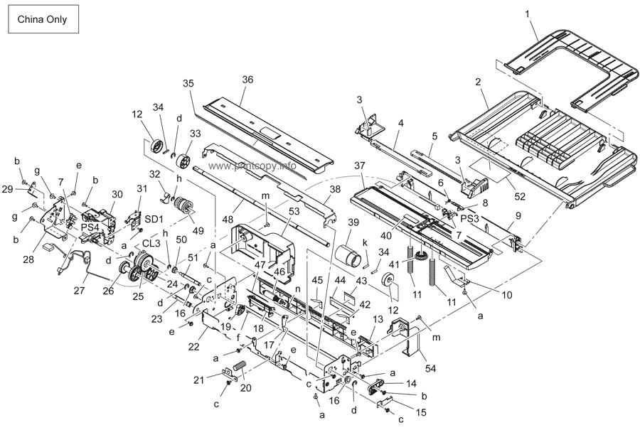 Parts Catalog > Konica-Minolta > bizhub 164 > page 16