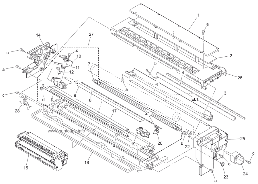 Parts Catalog > Konica-Minolta > bizhub 211 > page 13