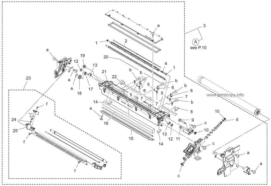 Parts Catalog > Konica-Minolta > bizhub 215 > page 9