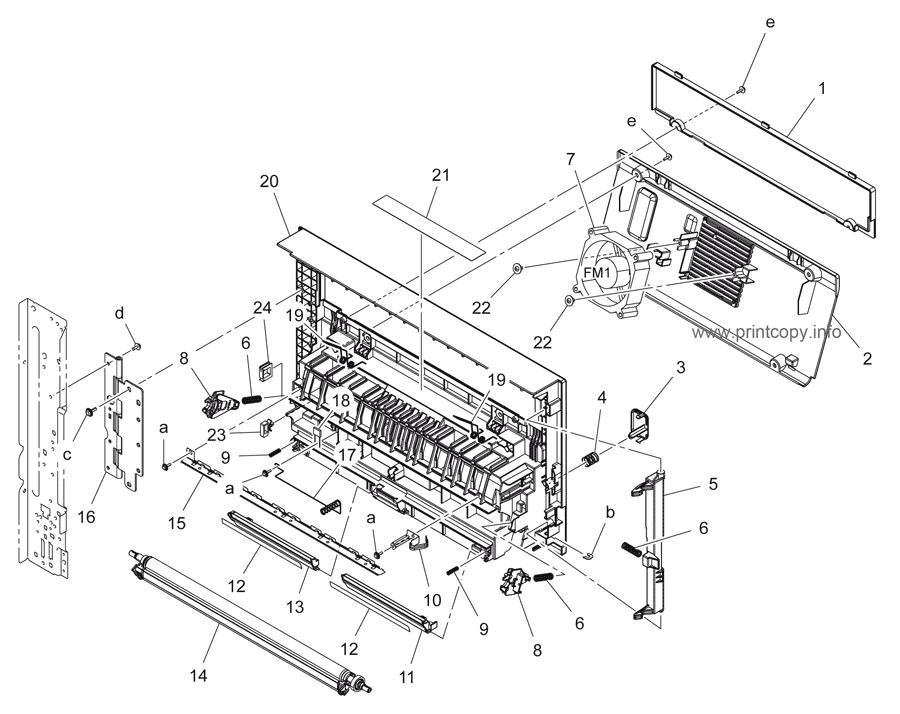 Parts Catalog > Konica-Minolta > bizhub 195 > page 11