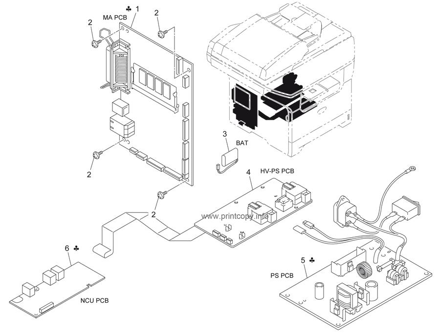 Parts Catalog > Konica-Minolta > bizhub 20 > page 16