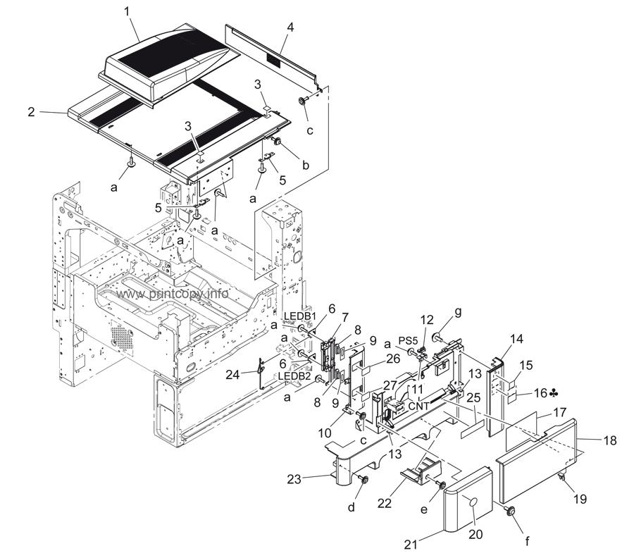 Parts Catalog > Konica-Minolta > bizhub 423 > page 1